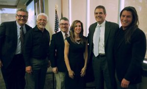 From left to right: Dr. Glenn Lipson, Rick Phillips, Frederick Lane, Dr. Lisa Boesky, Dr. Troy Hutchings, Eric Lucas