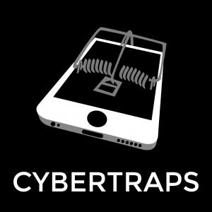 Cybertraps Logo_B&W