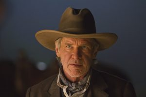 HARRISON FORD as the iron-fisted Colonel Dolarhyde in an event film for summer 2011 that crosses the classic Western with the alien-invasion movie in a blazingly original way: ?Cowboys & Aliens?.