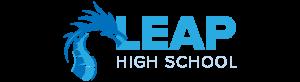 Logo for LEAP High School, St. Paul, MN