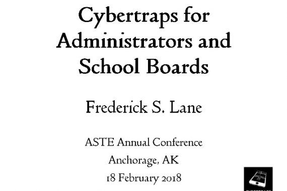 Cover Slide_2018-02-18 Cybertraps for Administrators and School Boards