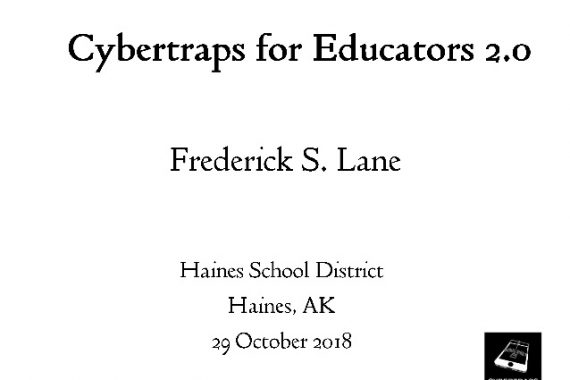 [Slide] 2018-10-29 Cybertraps for Educators 2.0